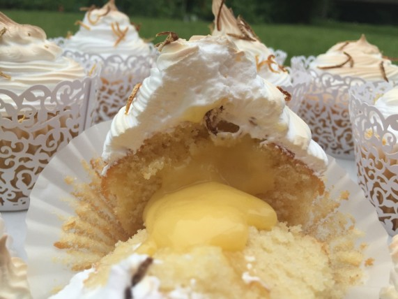 Lemon Meringue Cupcakes 2